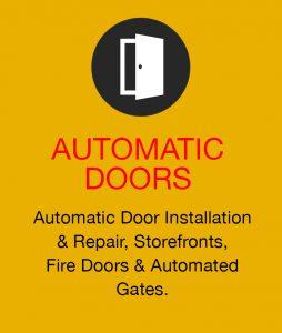 Automatic Sliding Door Installation and Repair